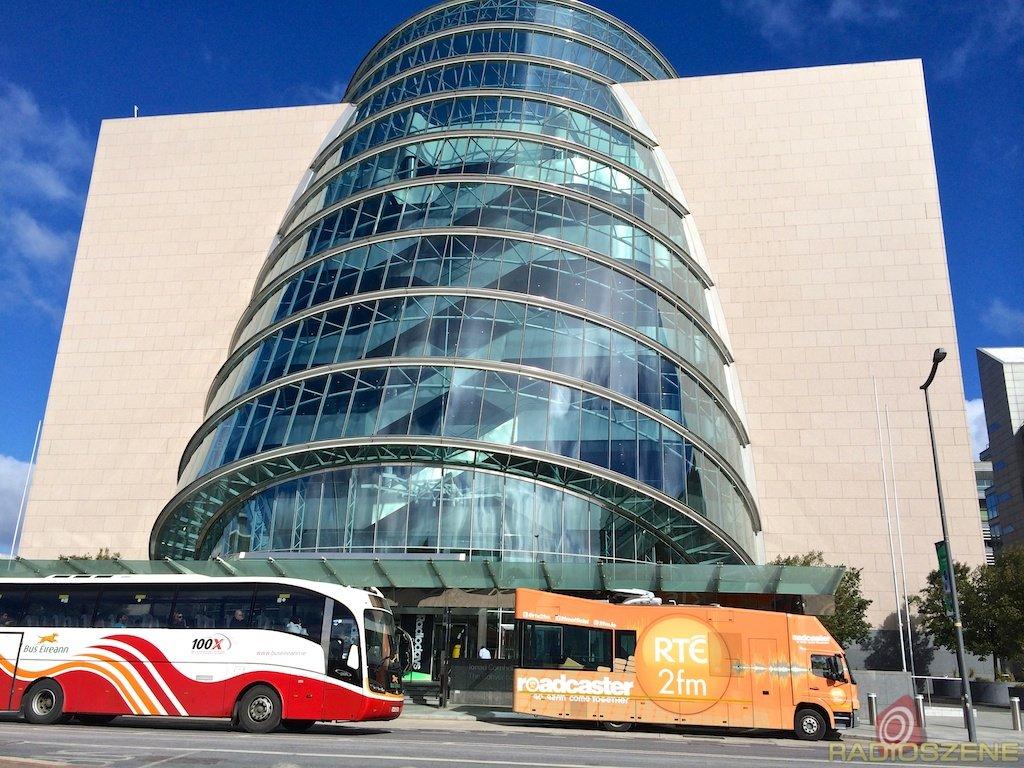Das Dublin Convention Center während der Radiodays Europe 2014