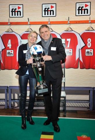 Steffen Müller (Radio 21) mit Ehefrau Regina