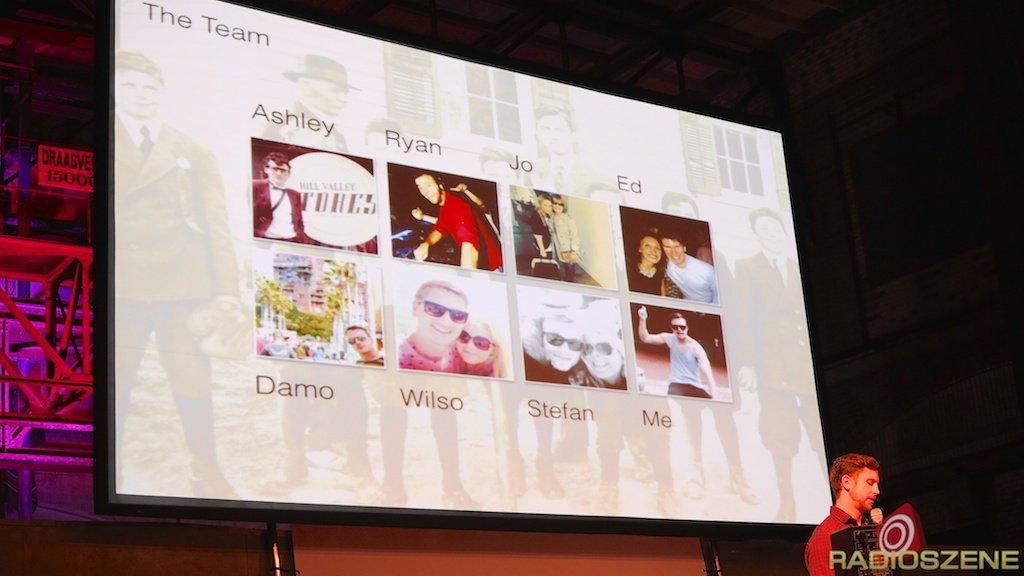 Produzenten-Team von Capital UK