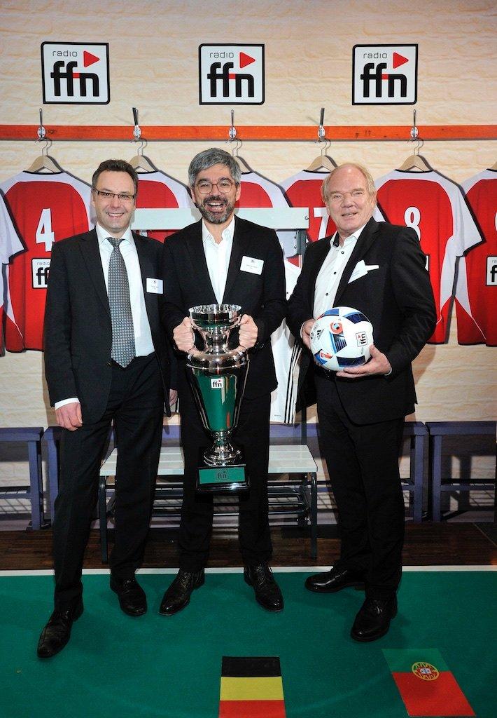Thorsten Braak (RMS), Alexander Sempf (RMS), Lutz Kuckuck (Radiozentrale)