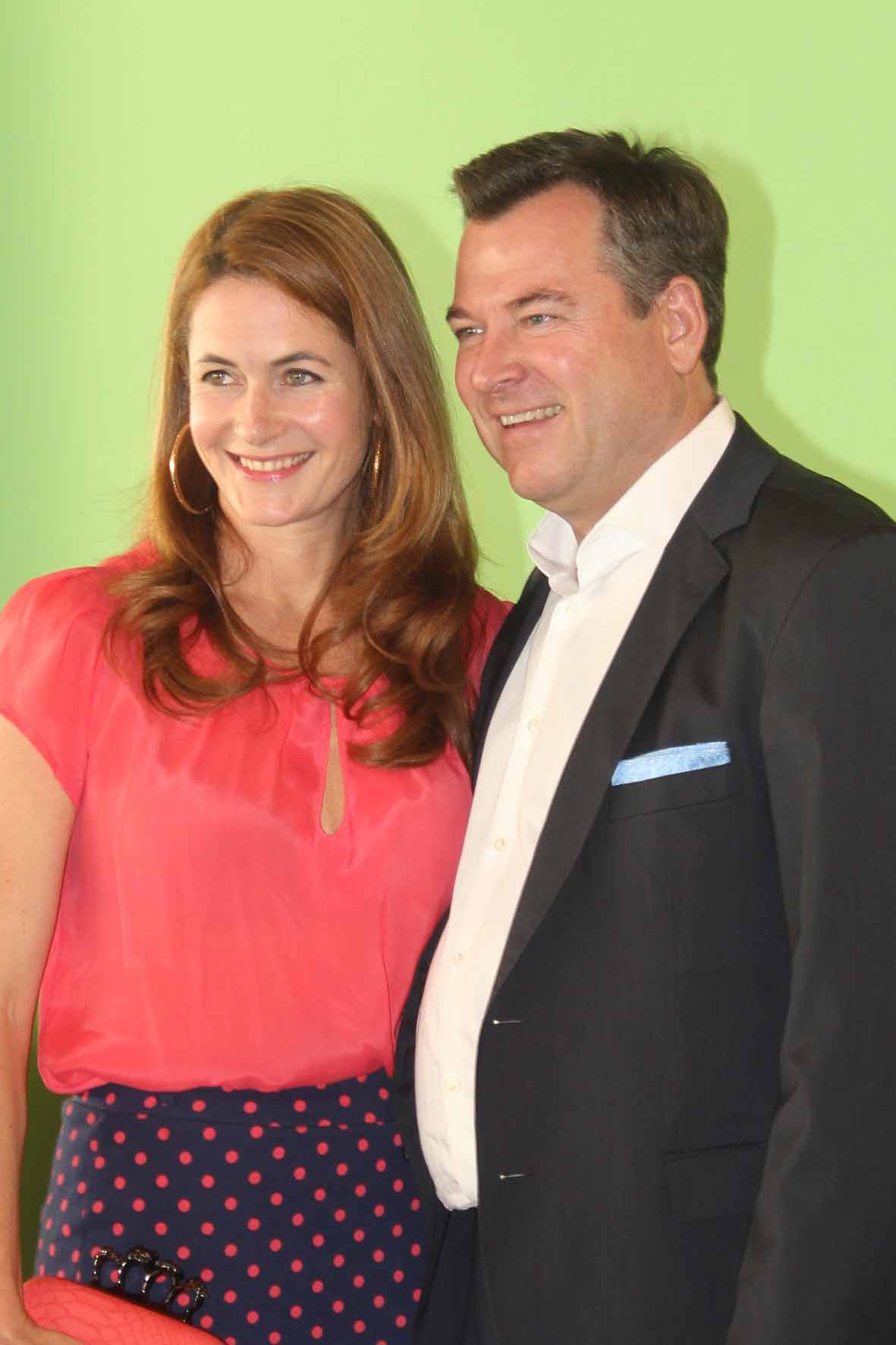 2. Bgm. von München Josef Schmid mit Gattin Natalie