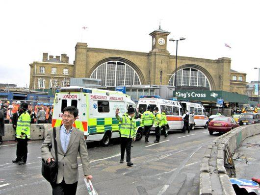 King's Cross-Bombenanschlag in London 2005 (Foto: James Cridland)