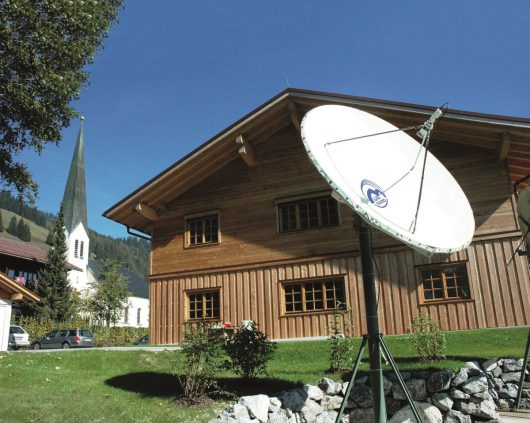 Radio Horeb-Medienhaus in Balderschwang (Bild: Radio Horeb)