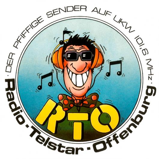 Aufkleber von Radio Telstar Offenburg (RTO)