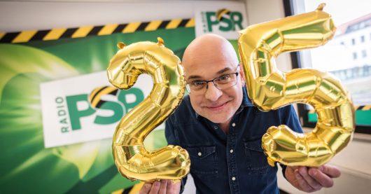 Steffen Lukas feiert 25 Jahre PSR (Bild: ©RADIO PSR)