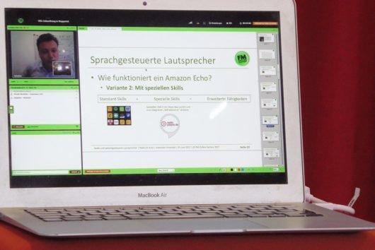 Sprachgesteuerte Lautsprecher (Bild: ©VdC/T.Wagner)