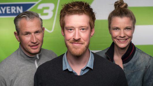 Philipp Kleininger, Sebastian Winkler, Simone Faust (Bild: ©BR/Markus Konvalin)