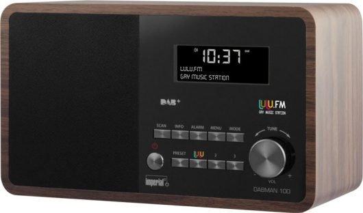 DAB+-Radio mit eingebauter lulu.fm-Taste
