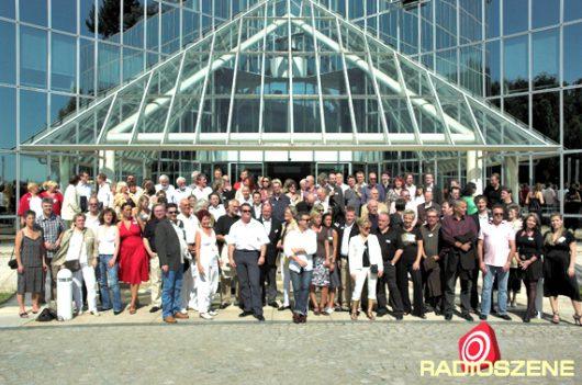 Ehemalige RTL-Mitarbeiter auf einem Foto (Bild: ©Ulrich Köring/RADIOSZENE)