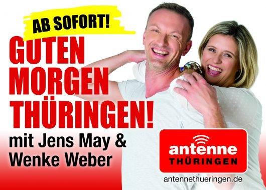 Wenke Weber ab 9.10.2017 wieder zurück bei Antenne Thüringen