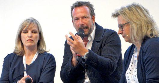 Sina Peschke, Robert Kratky, Inge Seibel (Bild: ©Ulrich Köring/RADIOSZENE)