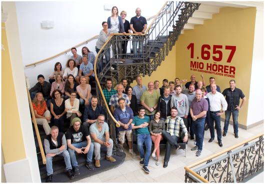 Das Team der radio-NRW-Kollegen aus Oberhausen (Foto: NRW-Lokalradios)