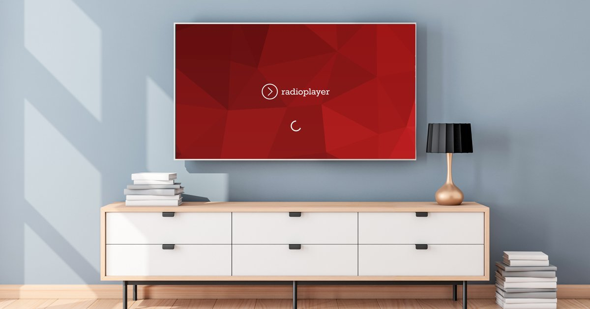 radioplayer jetzt mit neuer smart tv app radioszene. Black Bedroom Furniture Sets. Home Design Ideas