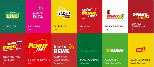 """Programme vom Einkaufsradio """"Radio Max"""" in Wien"""