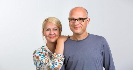 Anja Brukner + Christoph Hausdorf (Bild: Antenne Münster)