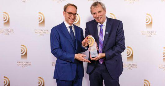 Carsten Kock und Andreas Otto (Bild: ©Morris-Mac-Matzen/Deutscher Radiopreis 2017)
