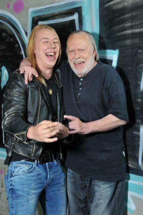 "Danny Keck (links) und Sonny Hennig von ""Rock Zock Reloaded"" (Bild: GONG 97.1)"