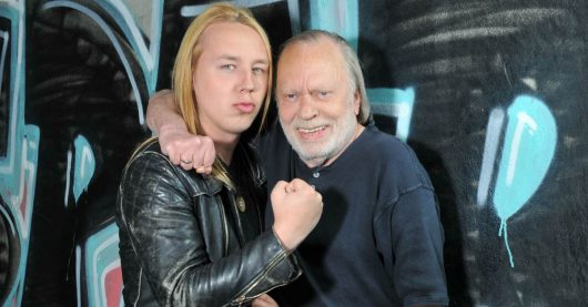 Danny Keck (links) und Sonny Hennig von Rock Zock Reloaded (Bild: GONG 97.1)