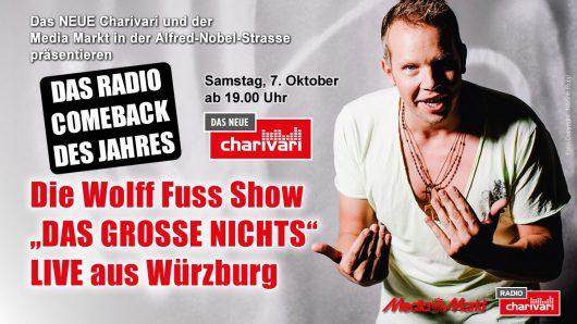 """Wolff-Christoph Fuss startet eigene Radioshow """"DAS GROSSE NICHTS"""""""