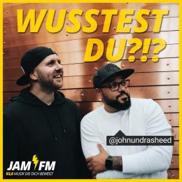 """Auf JAM FM und Spotify: Podcast """"Wusstest Du?!?"""""""