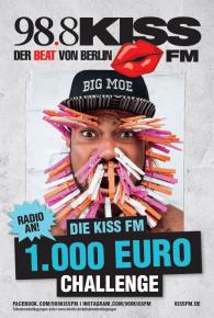 KISS FM Plakat Big Moe 2017