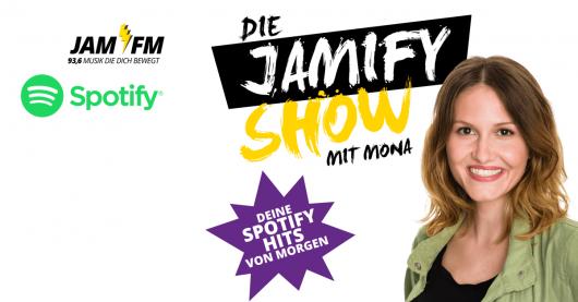 Die Jamify-Show mit Monat bei JAM FM und Spotify