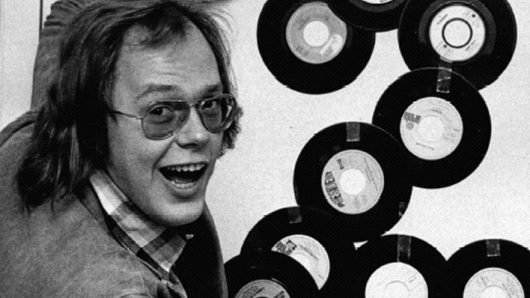 """Hey Music""-Moderator Jürgen Jürgens in den Anfängen (Bild: rbb)"