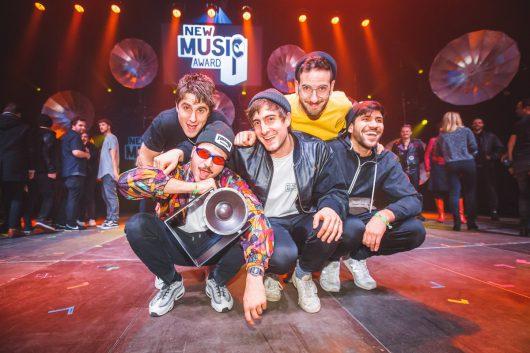 Die Gewinnerband des New Music Award 2017: Leoniden. (Bild: © rbb/Stephan Flad)