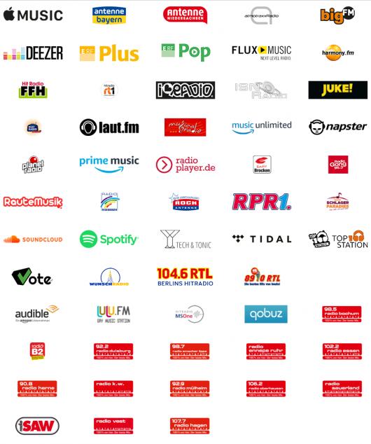 StreamOn-Partner (Bild: ©Telekom Deutschland GmbH)