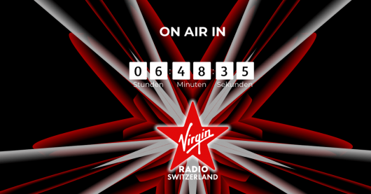 Virgin Radio Switzerland startet am 17.01.2018 um 7 Uhr