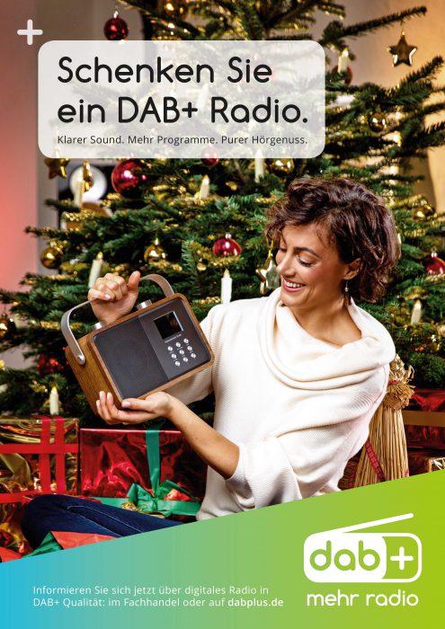 Schenken Sie ein DAB+ Radio