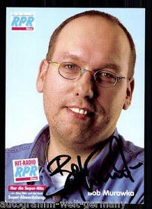 Bob Murawka Autogrammkarte