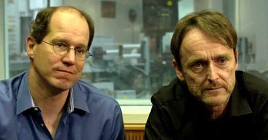 Cybercrime-Macher Henning Steiner und Oliver Guenther (Bild: ©hr-info)