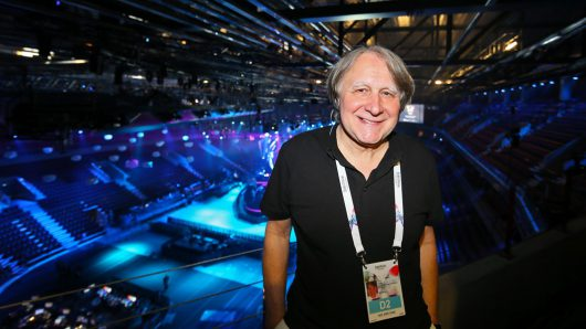 Peter Urban beim European Song Contest ESC (Bild: ©NDR)