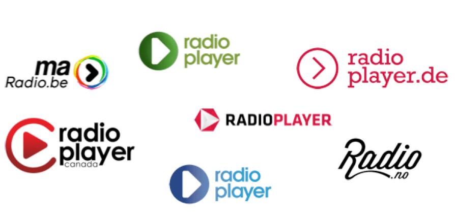 Bisherige Radioplayer-Logos