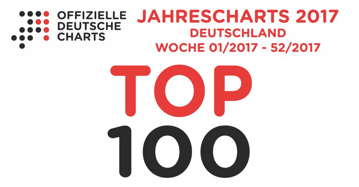 Jahrescharts 2017 Top 100 Charts