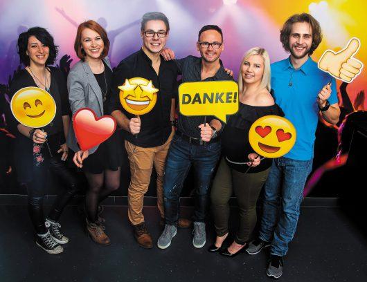 Die Moderatoren von ANTENNE VORARLBERG