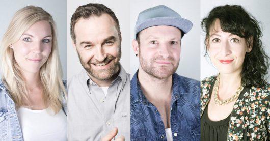 Das NOXX-Team: Julia Vorpahl, Andreas Grunwald, Thomas Wagner, Annick Manoukian (BIlder: @radio NRW)