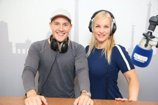Oli.P und Katrin Schifelbein (Bild: 94,3 rs2)