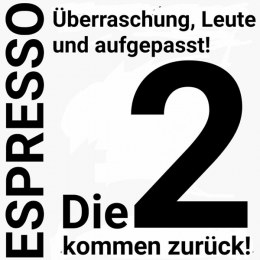 """Espresso-Die2: """"Dreamteam"""" Jürgen Frahne und Frank Dignass (Bild: FM Kompakt)"""