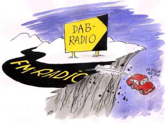 Armageddon fürs Radio: UKW-Abschaltung DAB Norwegen (Bild: © Oplands-Arbeiderblad)