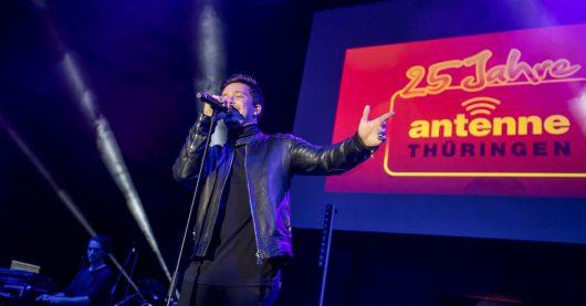 Nico Santos beim ANTENNE THÜRINGEN-Geburtstagskonzert