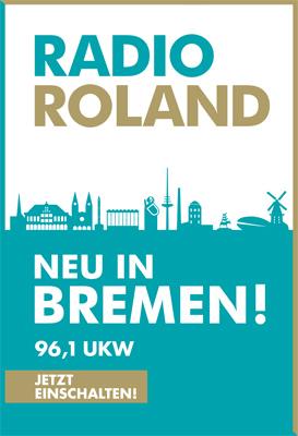 RADIO ROLAND-Plakat