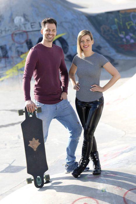 Lars Ellenberger und Susanka Bersin (Bild © hr/Tim Wegner)