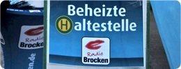 Radio Brocken: Die erste beheizte Haltestelle in Magdeburg
