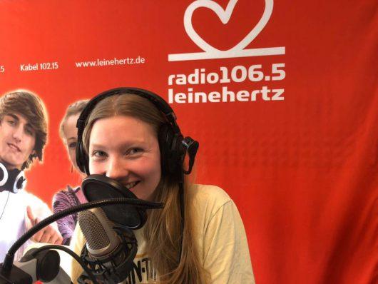Lea Taake ist die neue Stimme von radio leinehertz 106.5