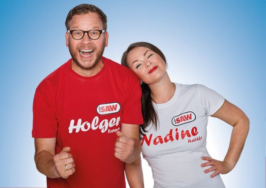Nadine Rathke und Holger Tapper (Bild: radio SAW)