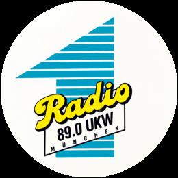 Radio 1 89.0 München Logo 1987