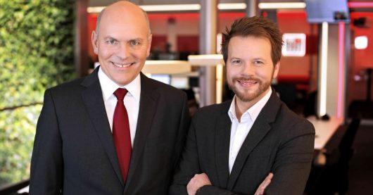 ffn-Geschäftsführer Harald Gehrung und Programmdirektor Jens Küffner (Bild: ©ffn)