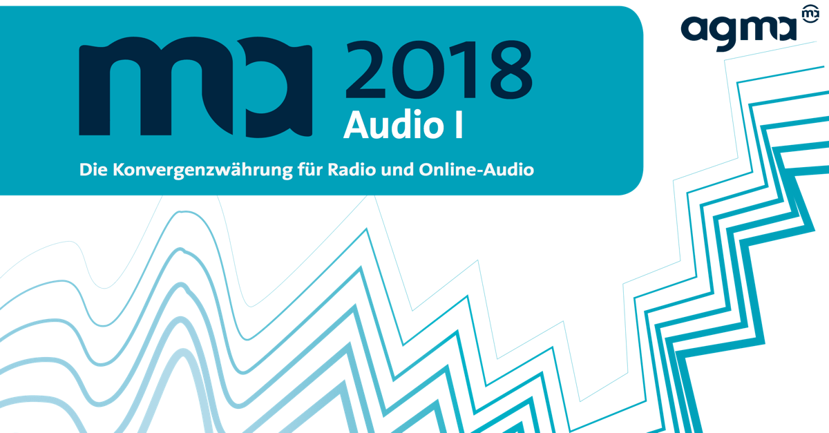 Media-Analyse ma 2018 Audio I erschienen
